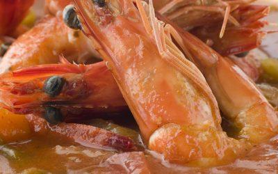 Caldo de camarón seco