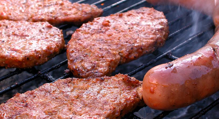 Carne asada con salchicha