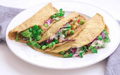 Crepas veganas y sin gluten