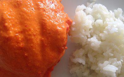 Pollo en salsa de mango y chipotle