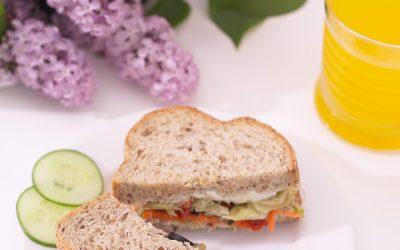 Sandwich de verduras
