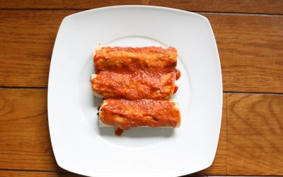 Burritos de frijoles