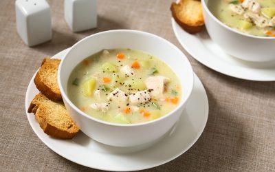 Sopa  ligera de verduras