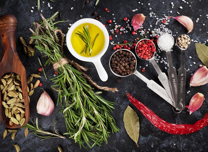 Aderezo de aceite de oliva y especias