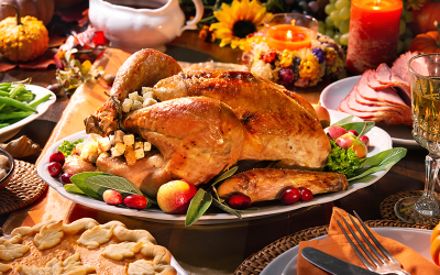 Pavo para Thanksgiving