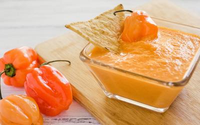 Salsa habanera con zanahoria