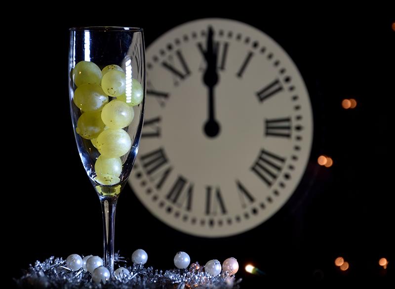 ¿Porqué comemos uvas en año nuevo?