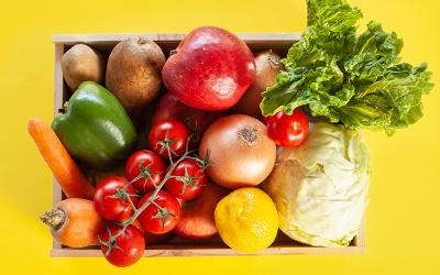 Frutas y verduras que te ayudan a bajar de peso