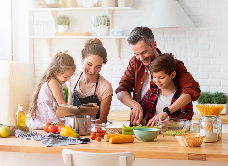 4 recetas para cocinar con niños