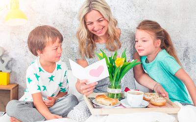 Sorprende a mamá este 10 de mayo con un rico desayuno en la cama